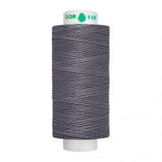 Нитки Dor Tak. Цвет - 296 темно-серый. 40/2 400 ярд. (100% полиэстер)