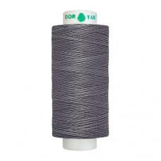 Нитки Dor Tak. Цвет - 325 темно-серый. 40/2 400 ярд. (100% полиэстер)