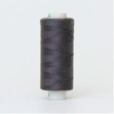 Нитки Dor Tak. Цвет - 327 темно-серый. 40/2 400 ярд. (100% полиэстер)