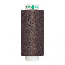 Нитки Dor Tak. Цвет - 343 темно-коричневый. 40/2 400 ярд. (100% полиэстер)