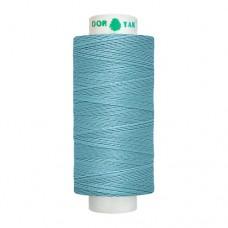 Нитки Dor Tak. Цвет - 369 ярко-голубой. 40/2 400 ярд. (100% полиэстер)