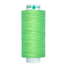 Нитки Dor Tak. Цвет - 468 ярко-зеленые. 40/2 400 ярд. (100% полиэстер)