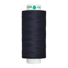 Нитки Dor Tak. Цвет - 750 темно-синий. 40/2 400 ярд. (100% полиэстер)